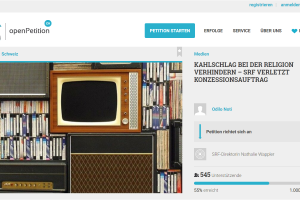 «Kahlschlag bei SRF verhindern»: Christen, Juden, Muslime und Aleviten starten Online-Petition