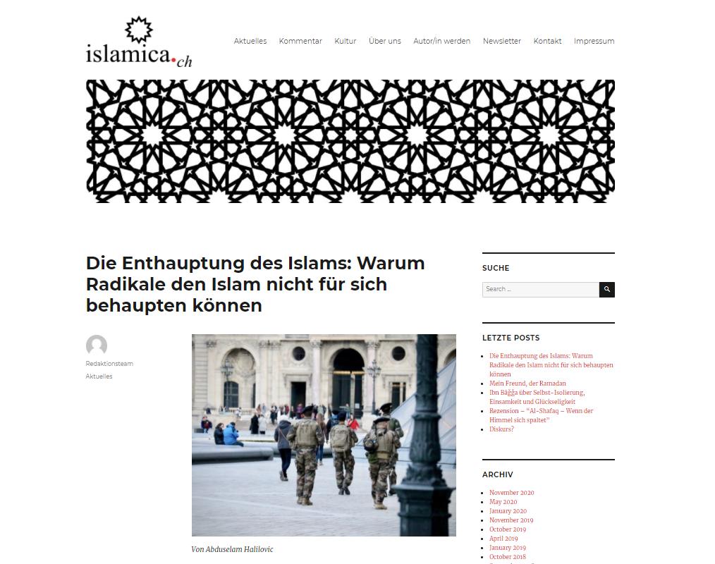 Die Enthauptung des Islams: Warum Radikale den Islam nicht für sich behaupten können