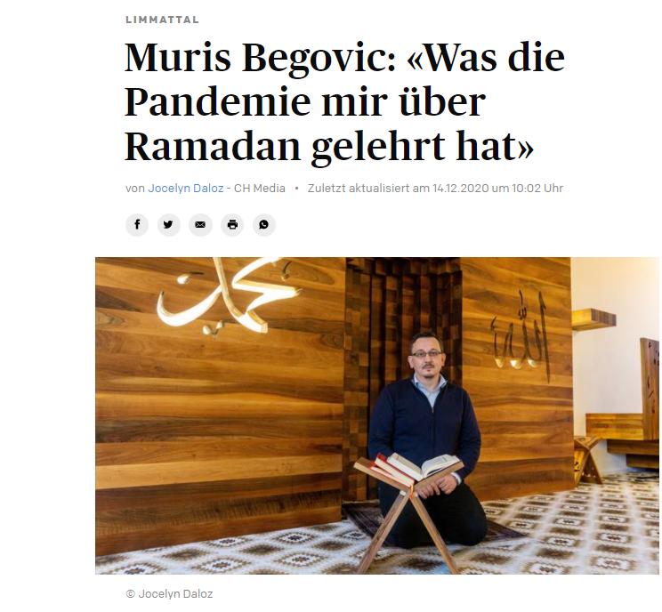 Muris Begovic: «Was die Pandemie mich über Ramadan gelehrt hat»