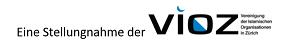 """Stellungnahme der VIOZ zum Positionspapier der SVP über """"Islam und Islamismus in der Schweiz"""""""