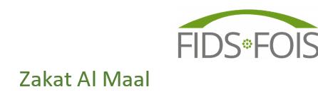 Spenden Sie Ihre Zakat Al Maal an die FIDS