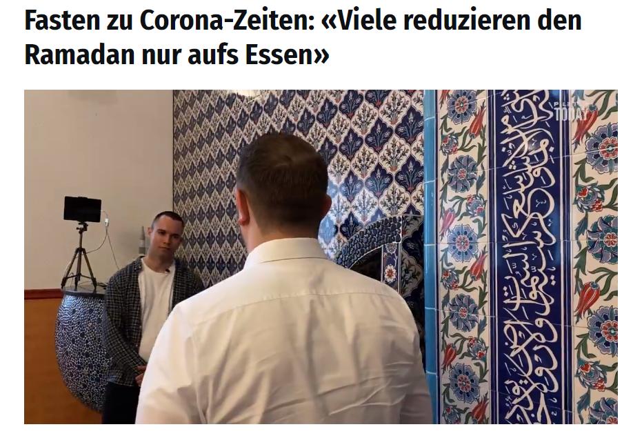 Besuch in Luzerner Moschee