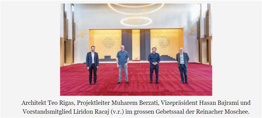 Schweizweit einzigartige Moschee