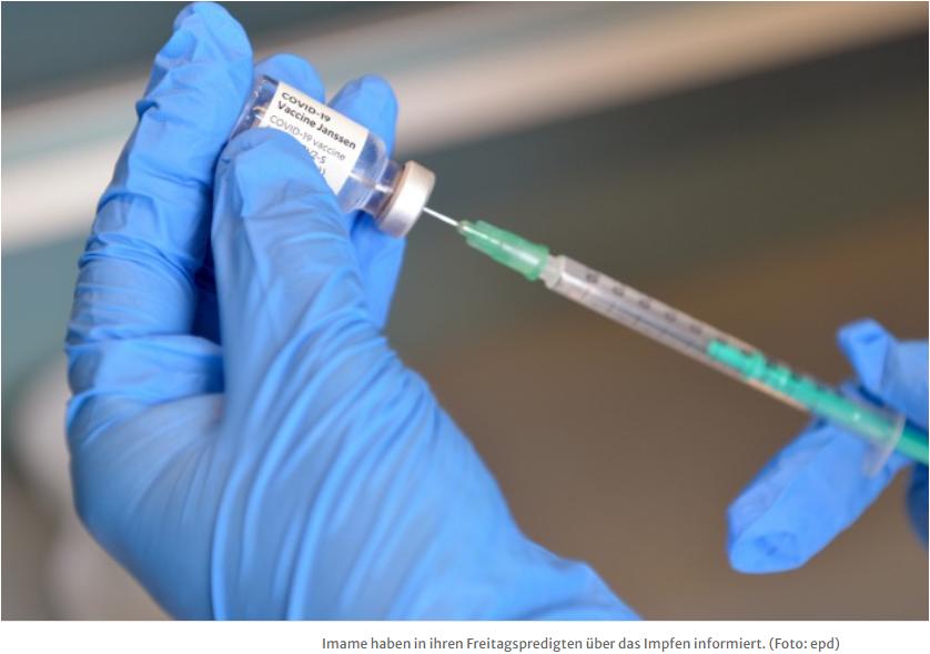 Muslimische Gemeinschaften wollen Impfkampagne unterstützen
