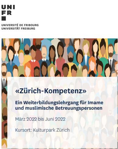 """""""Zürich-Kompetenz"""" – Weiterbildungslehrgang für Imame und muslimische Betreuungspersonen"""